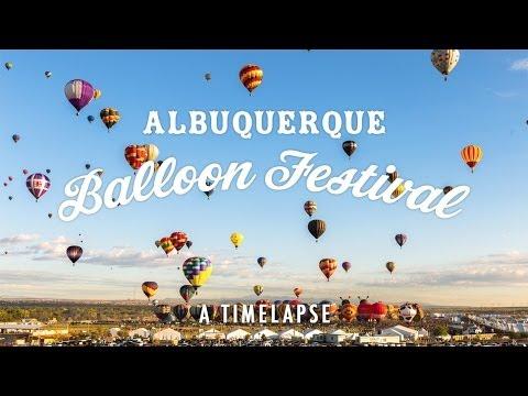 Le festival de montgolfières d'Albuquerque