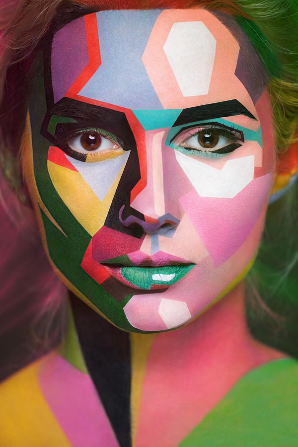 Des peintures sur visages