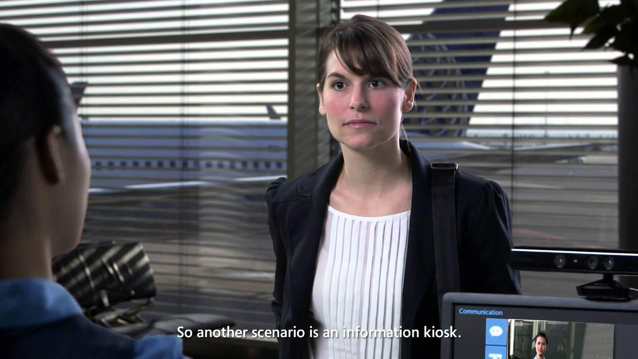 Un Kinect pour traduire le langage des signes