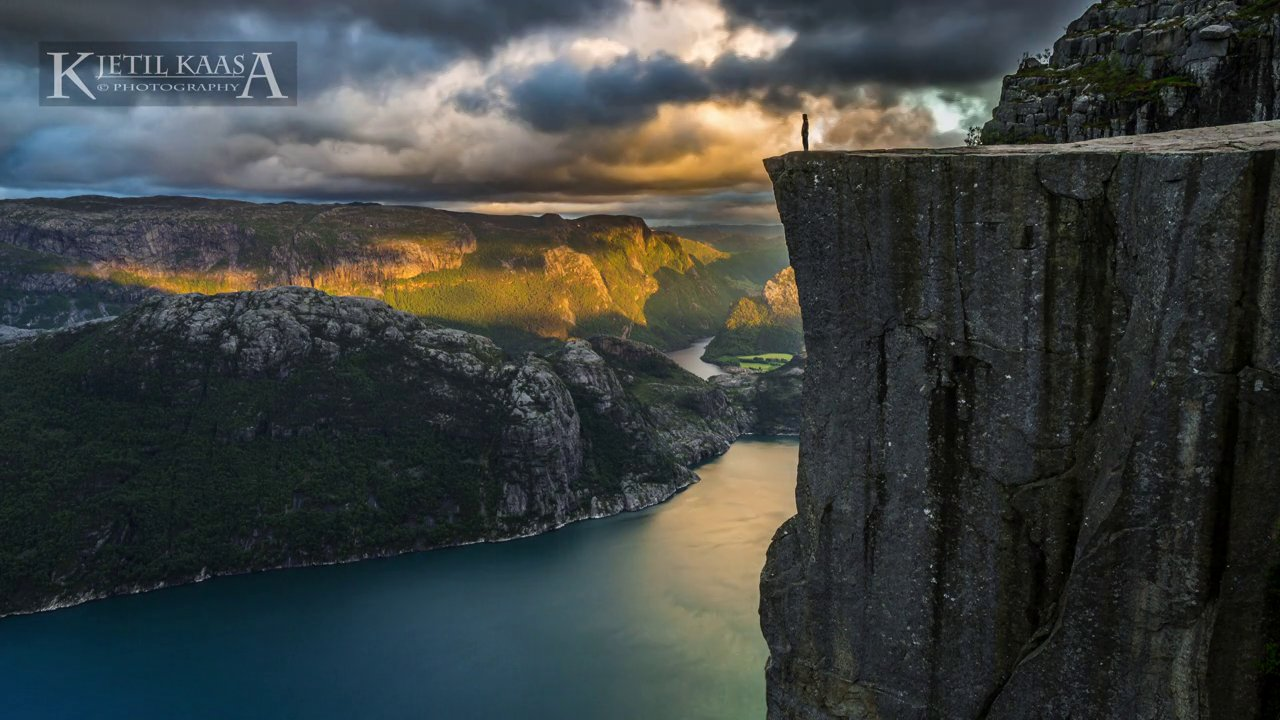 Un timelapse des fjords Norvégiens
