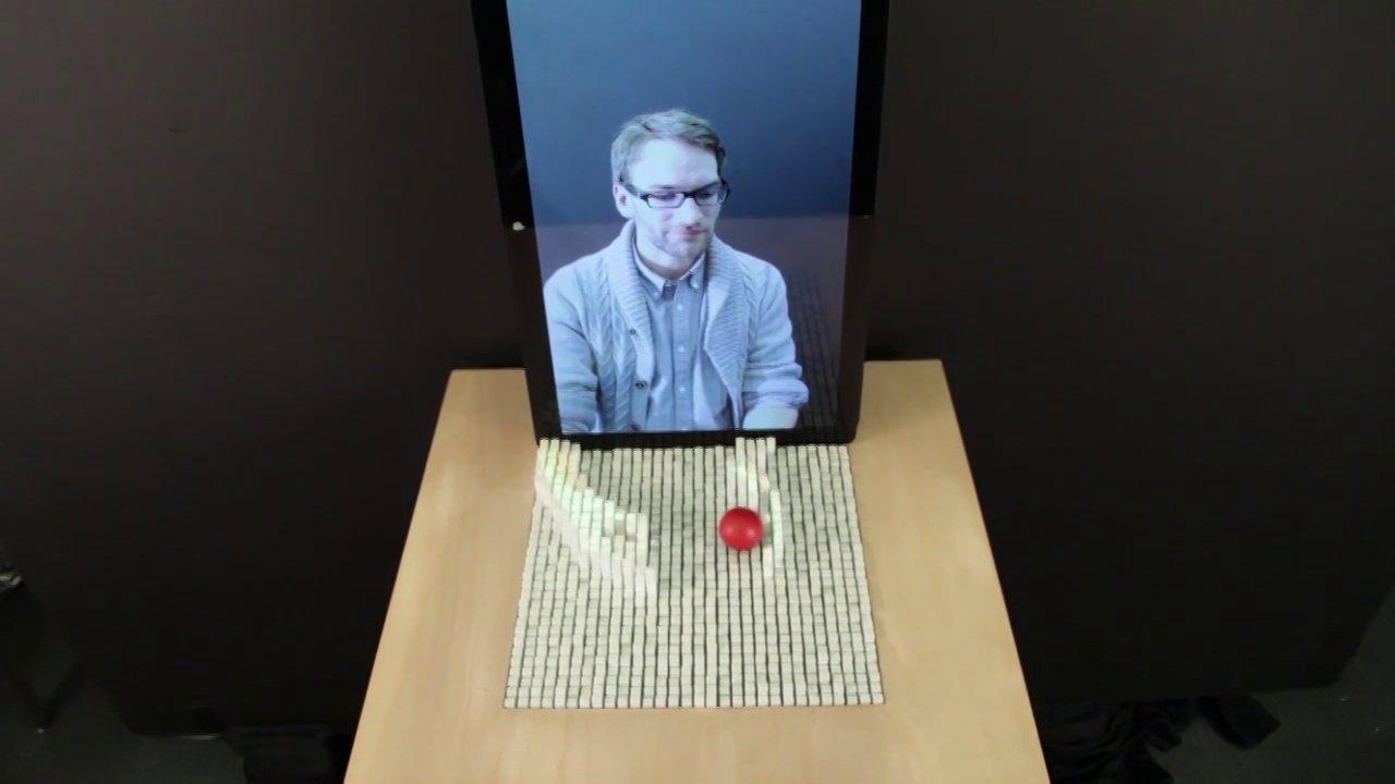 Une table tactile pour manipuler des objets