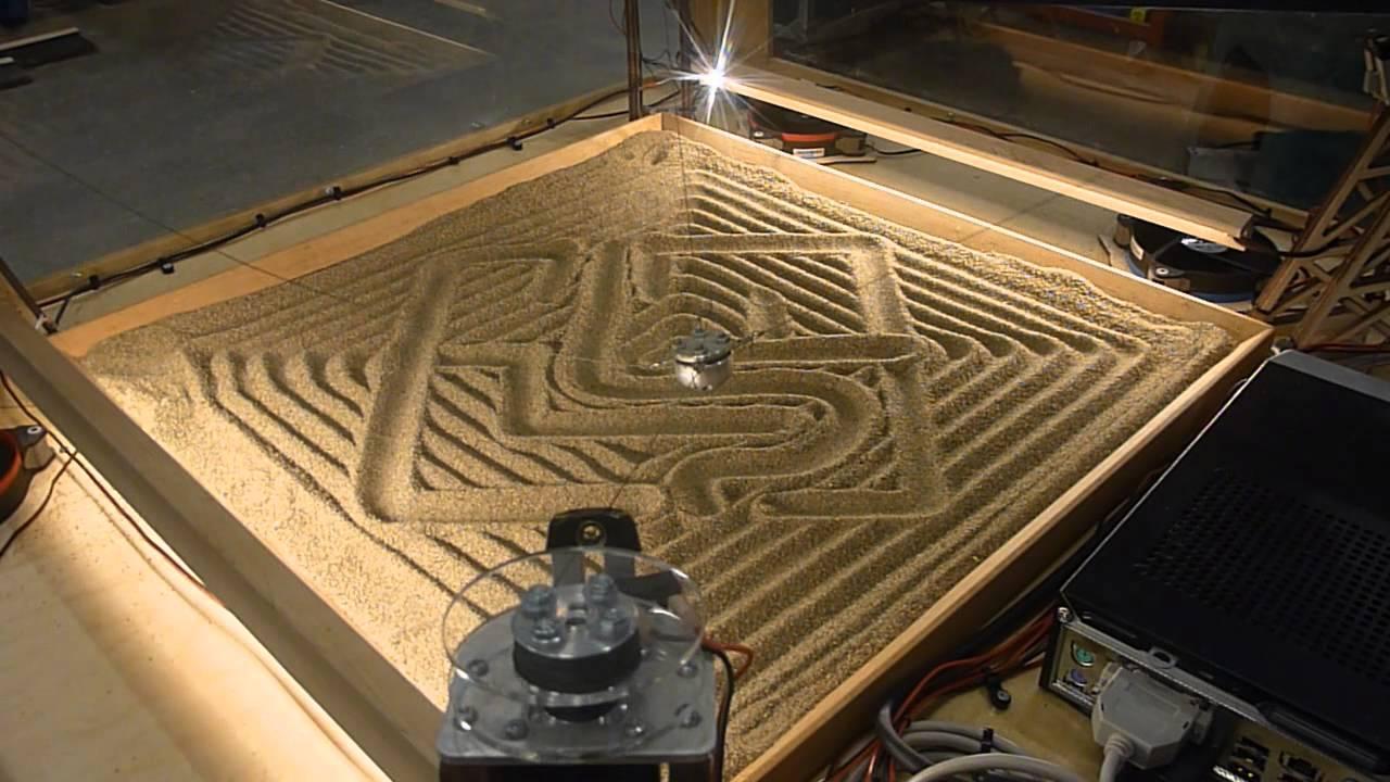 4 câbles pour dessiner dans le sable
