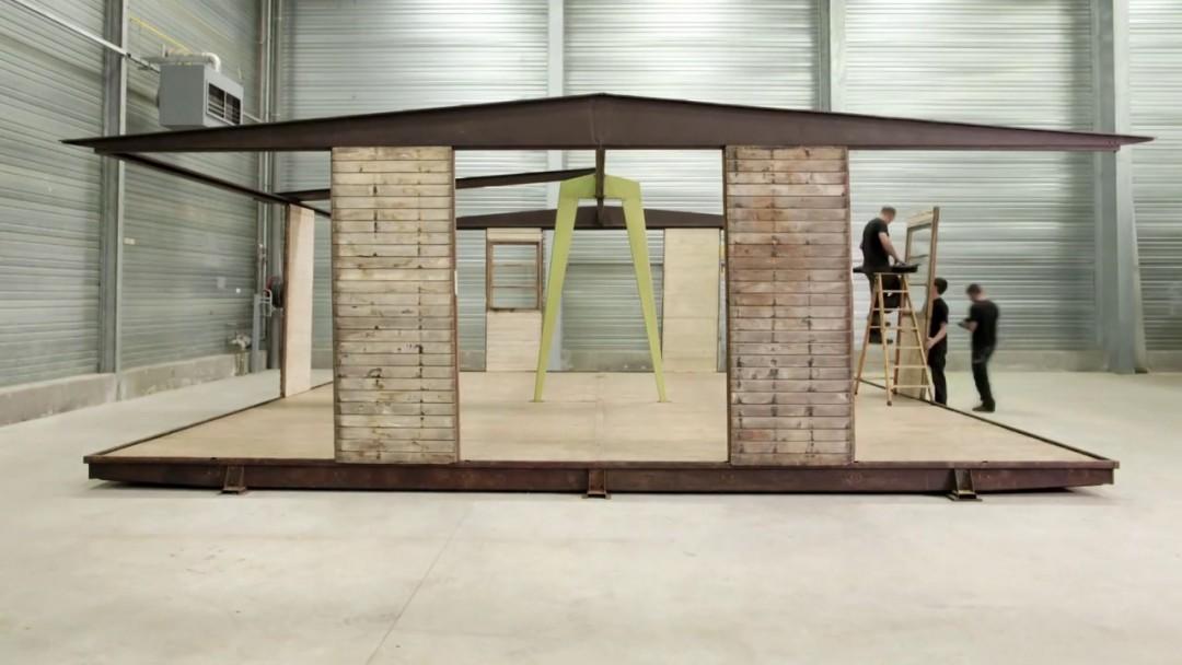 Comment restaurer un chef d 39 oeuvre de la peinture classique la boite verte - Maison de jean prouve ...