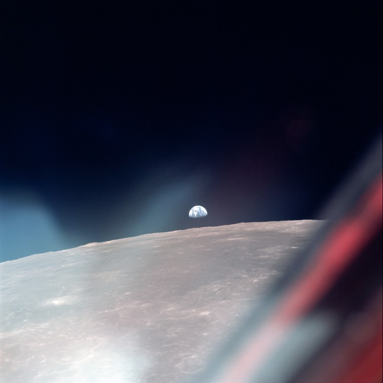 photo loupe apollo lune 90 750x750 Les photos loupées dApollo 11  technologie photographie espace technologie