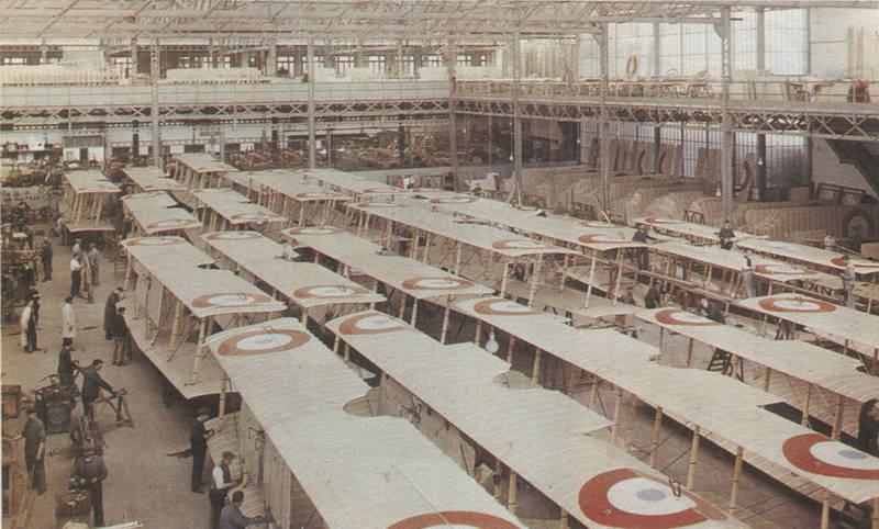 usines-farman-1917