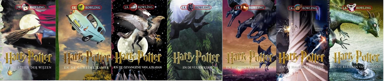 Harry Potter Couverture Livre 06 03 Dutch La Boite Verte