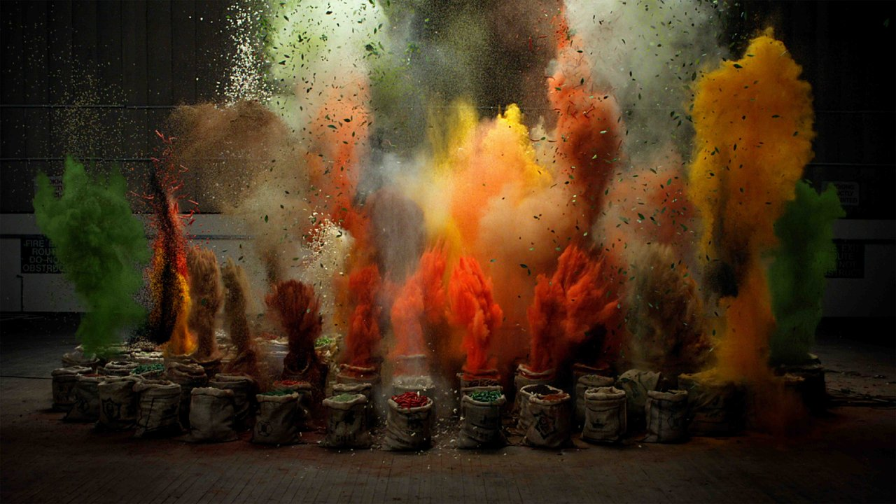 Des épices explosifs