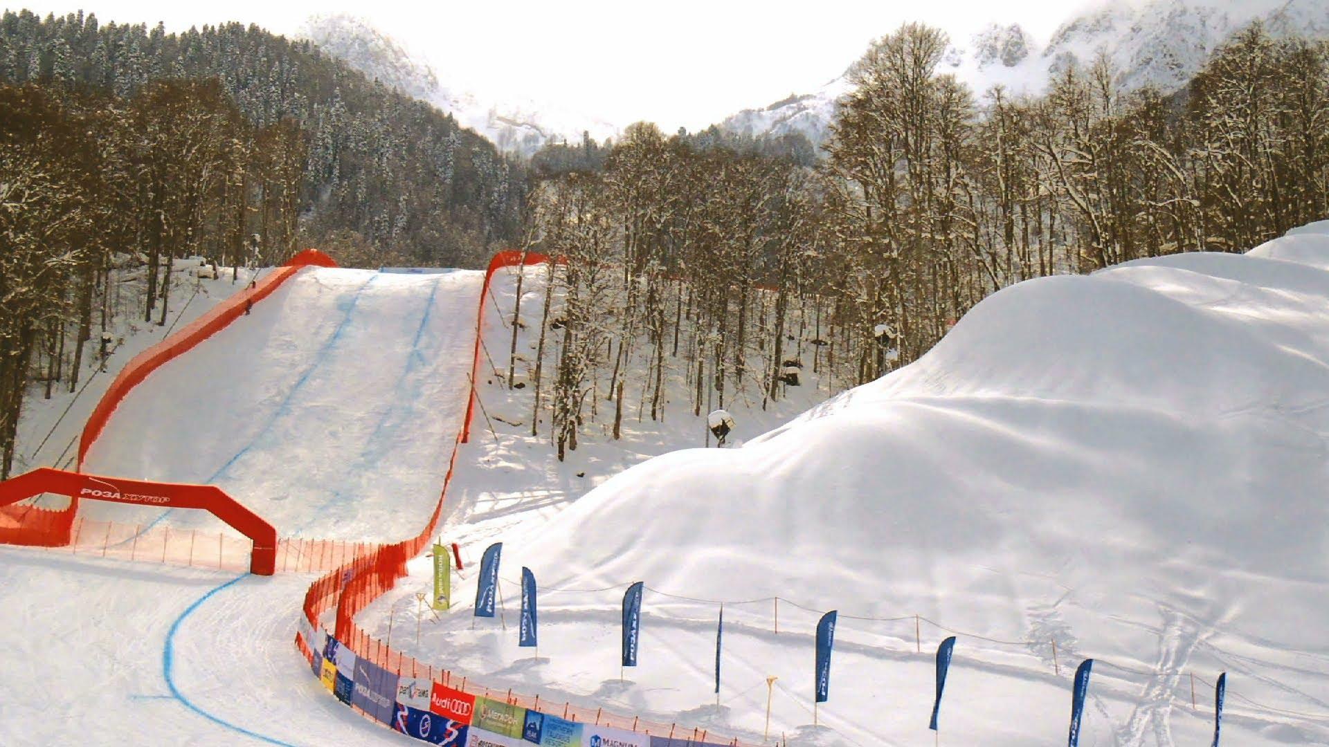 Fabriquer la neige de Sochi