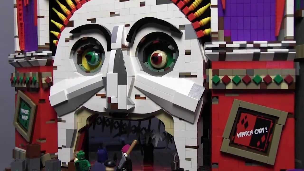 La maison du Joker en Lego