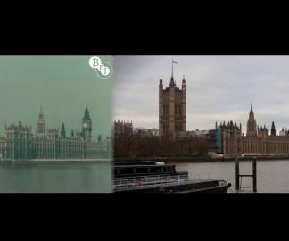 Londres en 1927 et en 2013