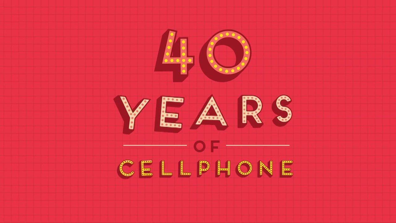 40 ans de téléphones portables