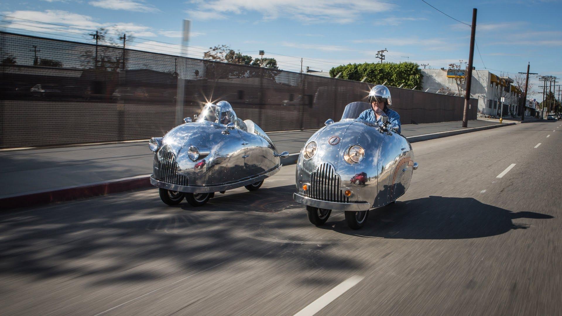 Des scooters Piaggio Mp3 au look inimitable