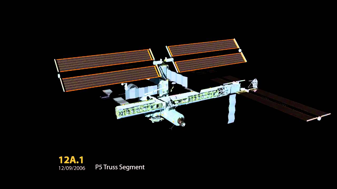 La construction progressive de l'International Space Station