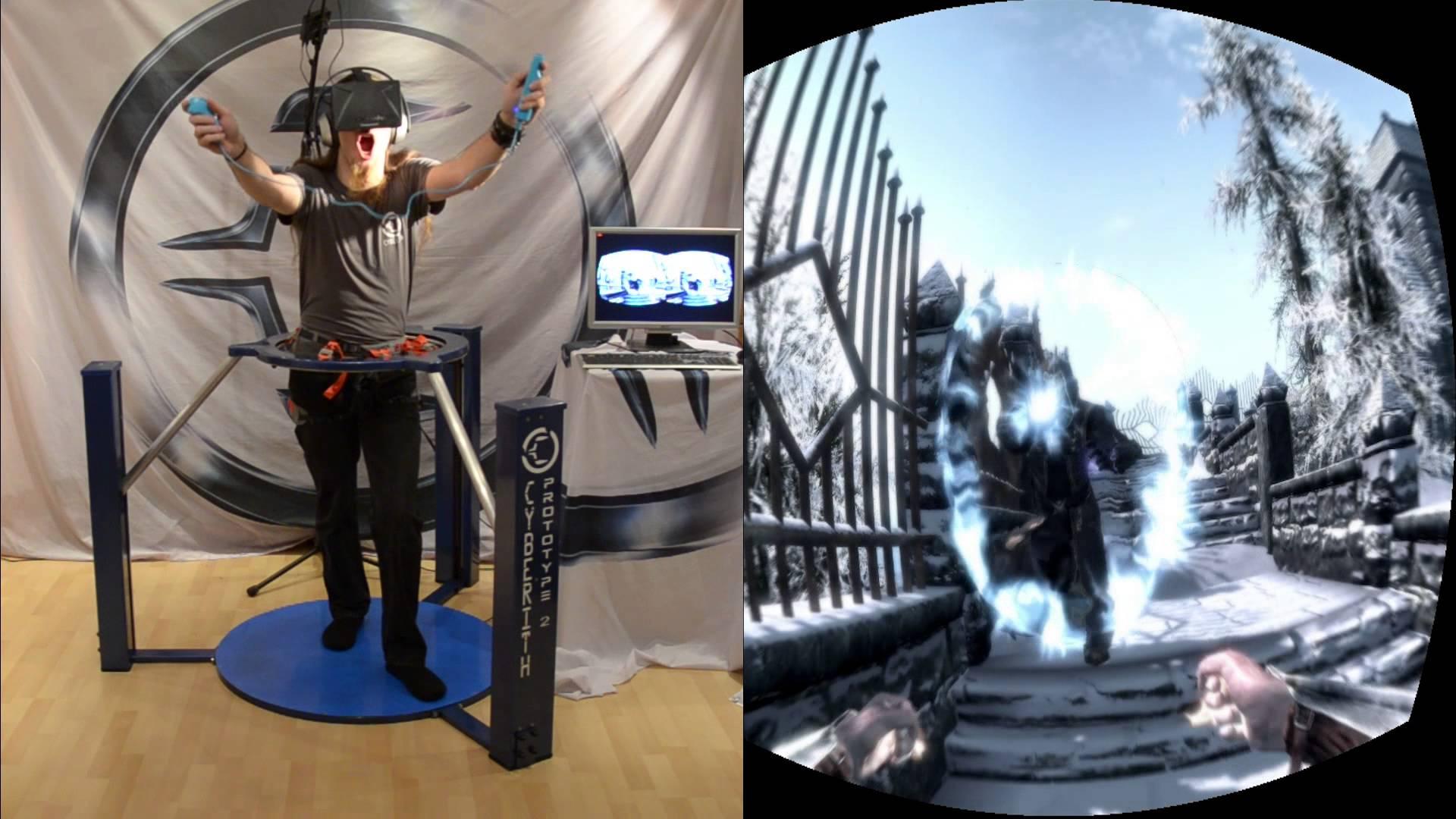 Skyrim en réalité virtuelle