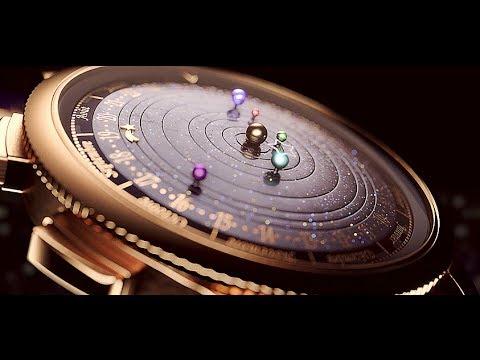 Une montre planétarium