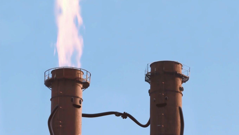 Des cheminées gazières qui pètent