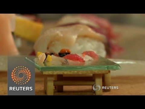 Des sushis avec un seul grain de riz