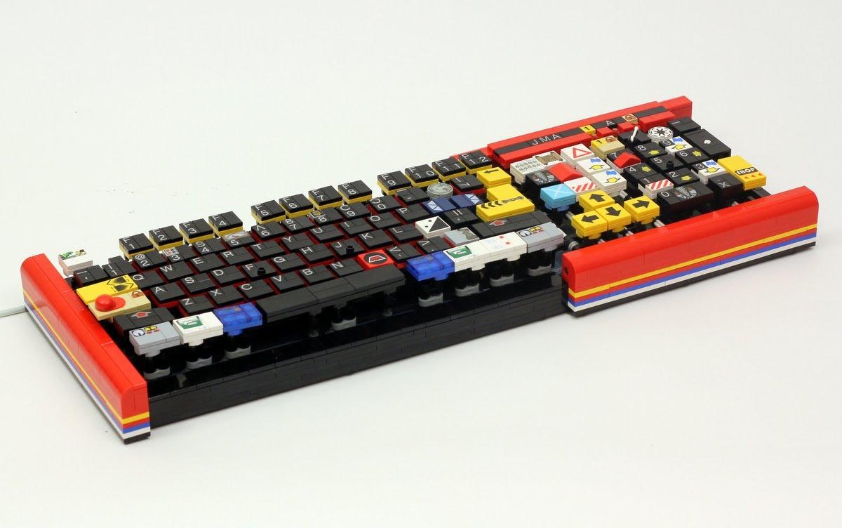 Un clavier en Lego