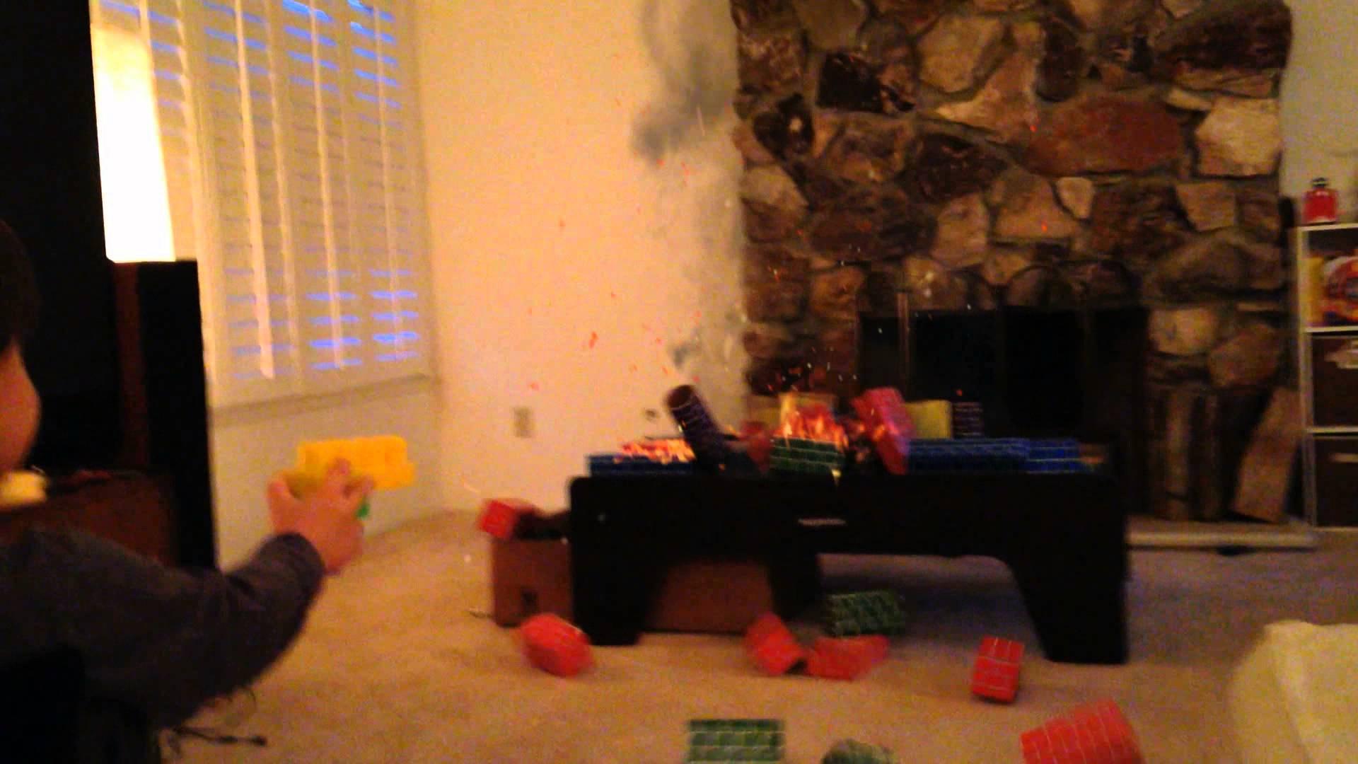 Un enfant et des effets spéciaux