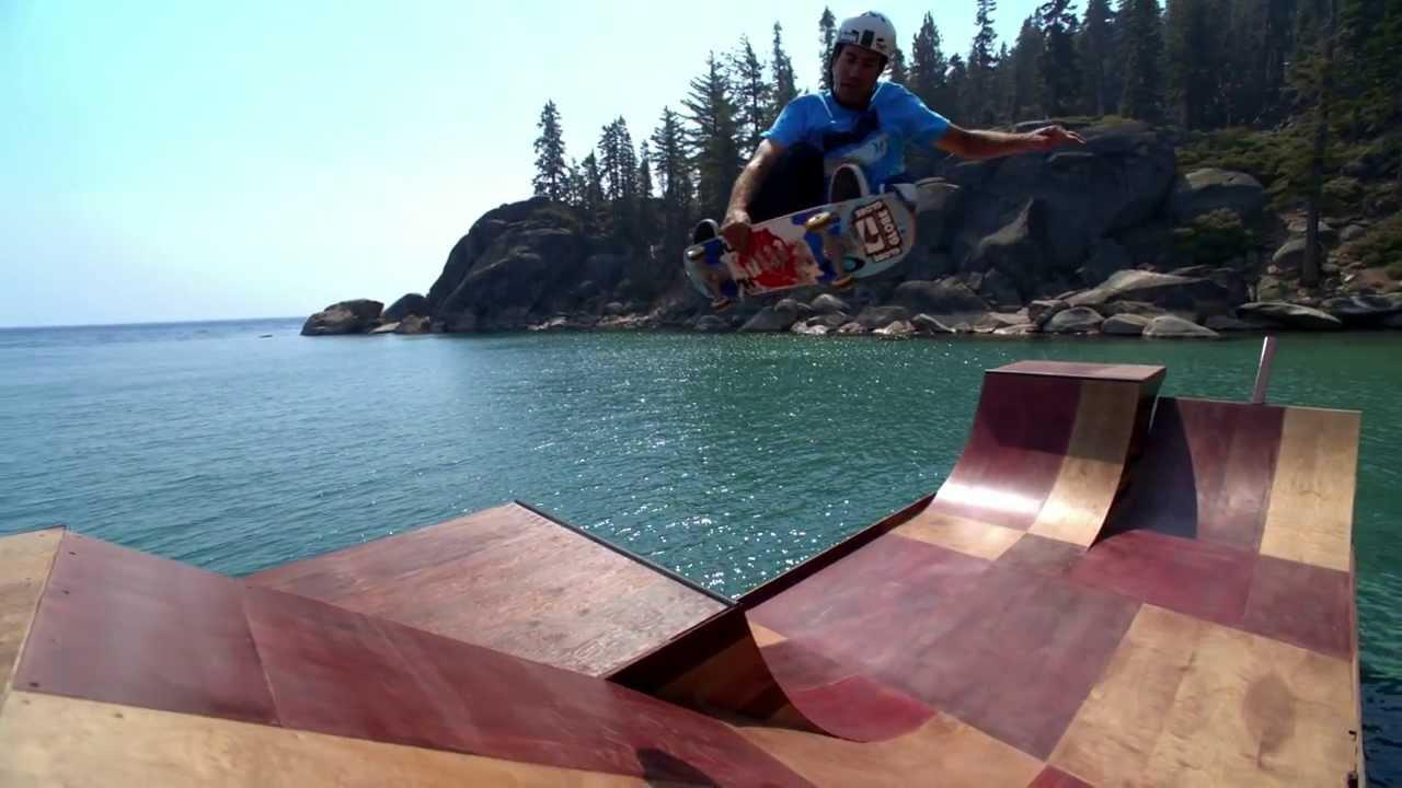 Un skate park flottant