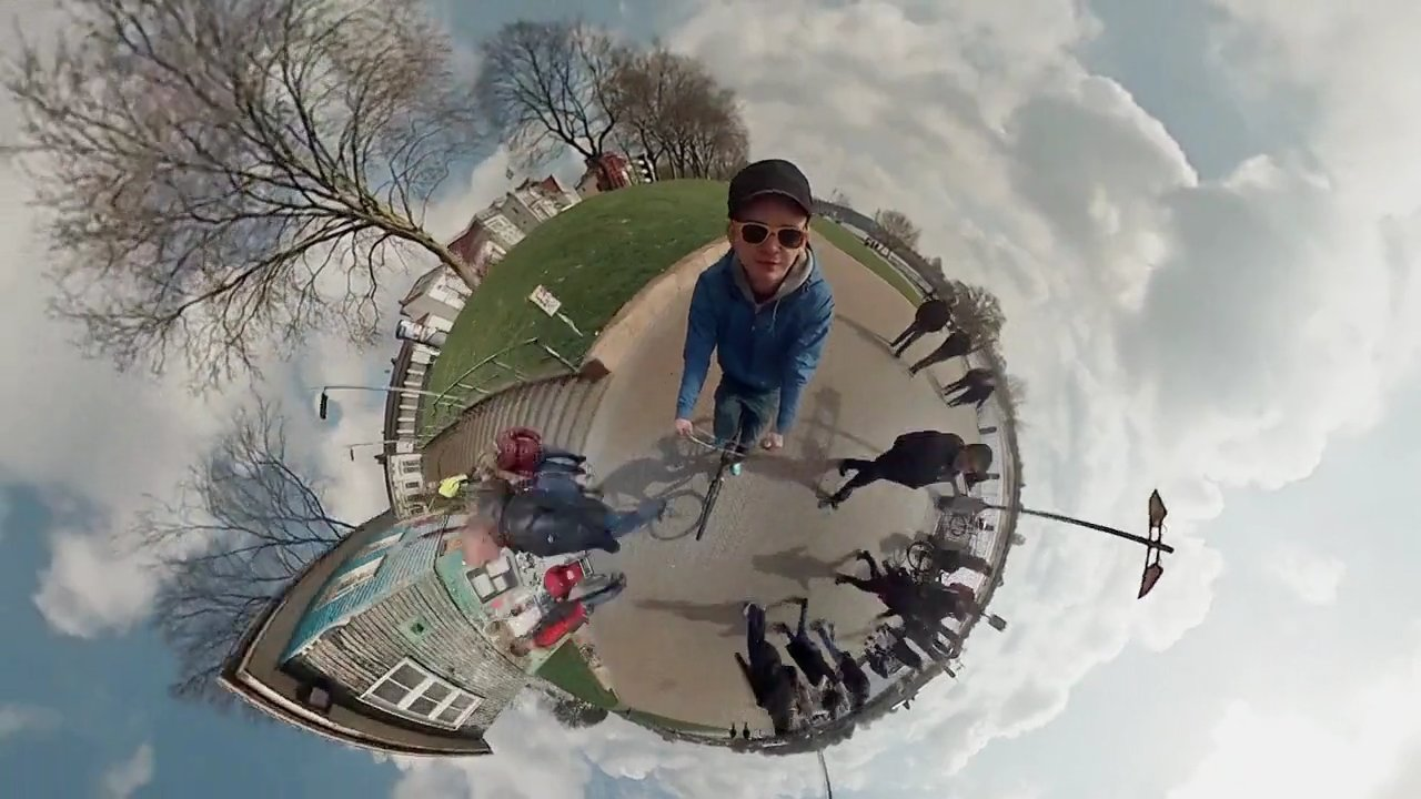 6 GoPros pour une vidéo panoramique à 360°