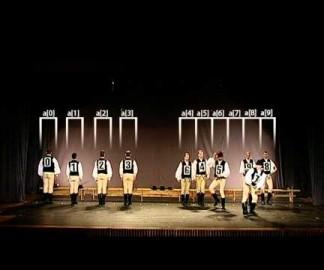 Des algorithmes de tri visualisés avec des danses folkloriques