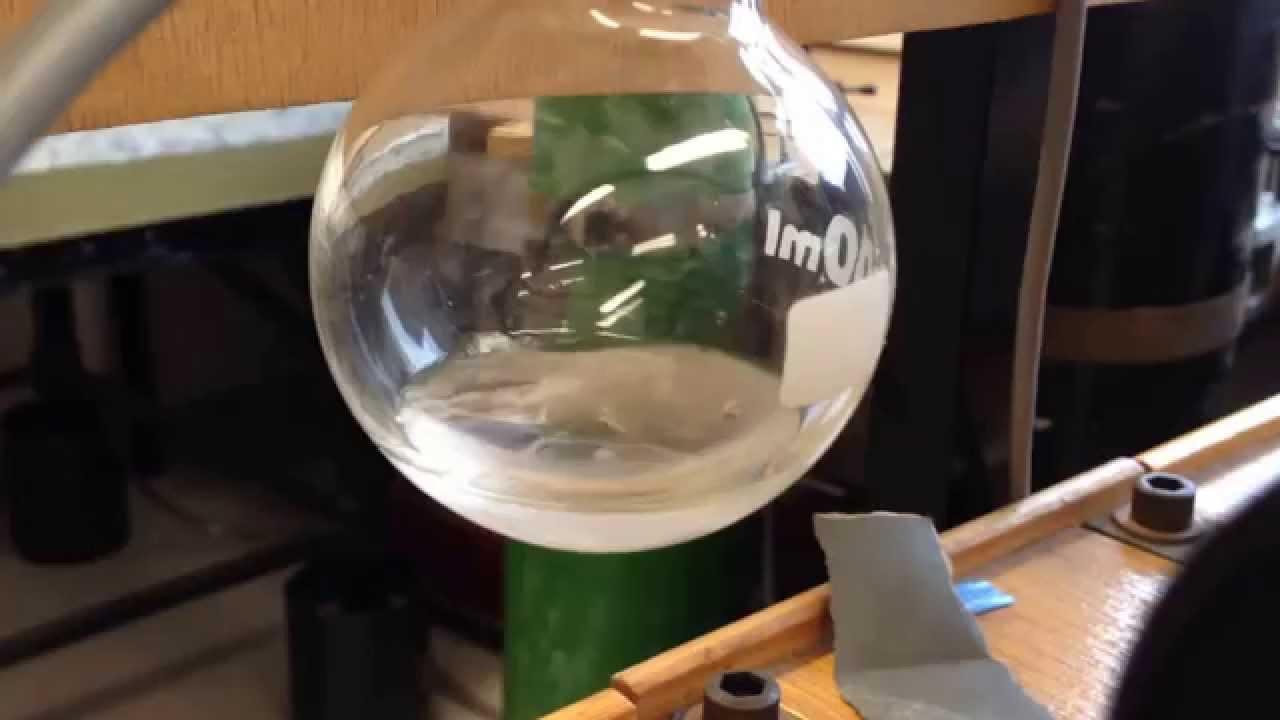 Le point triple d'un liquide