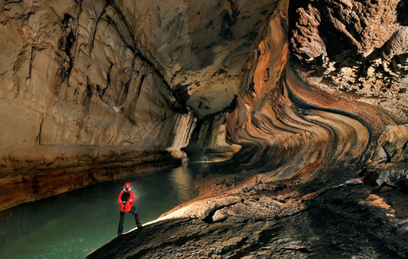 The giant caves of Mulu National Park, Sarawak, Borneo, Malaysia