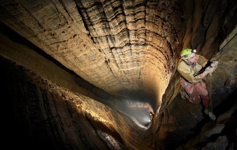 Robbie Shone, un photographe spéléologue photographe grotte 12 800x507