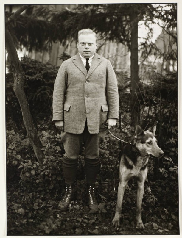 Young Teacher c. 1928, printed 1990 by August Sander 1876-1964
