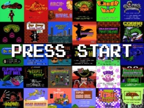 Tous les écrans d'introductions des jeux Nintendo et Super Nintendo