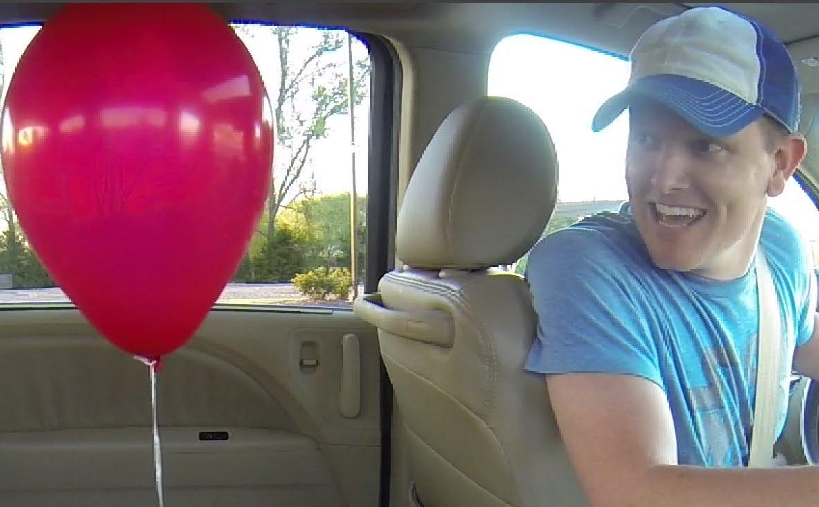 Un ballon, un van et de la physique