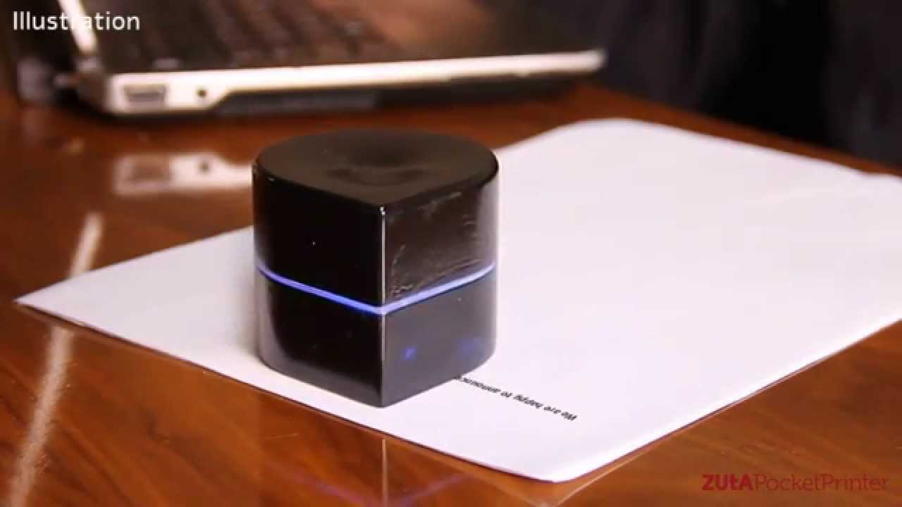 Une imprimante mobile