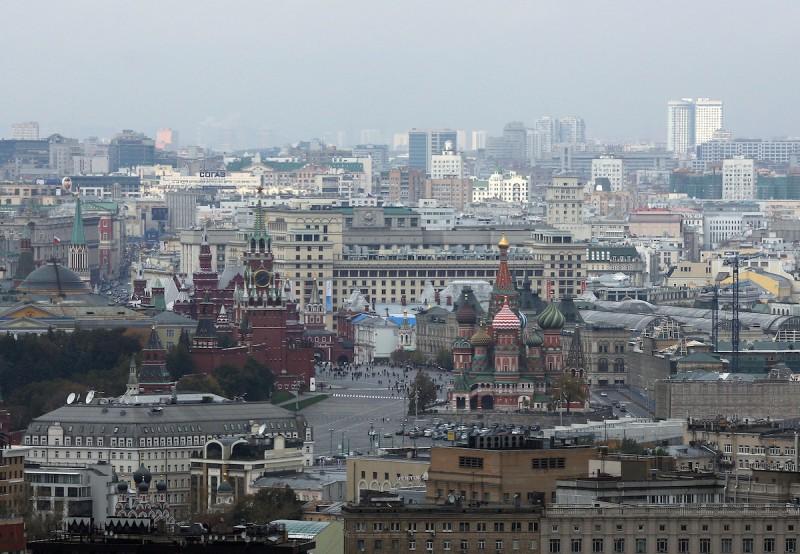 Aerial Views Of The City Skyline