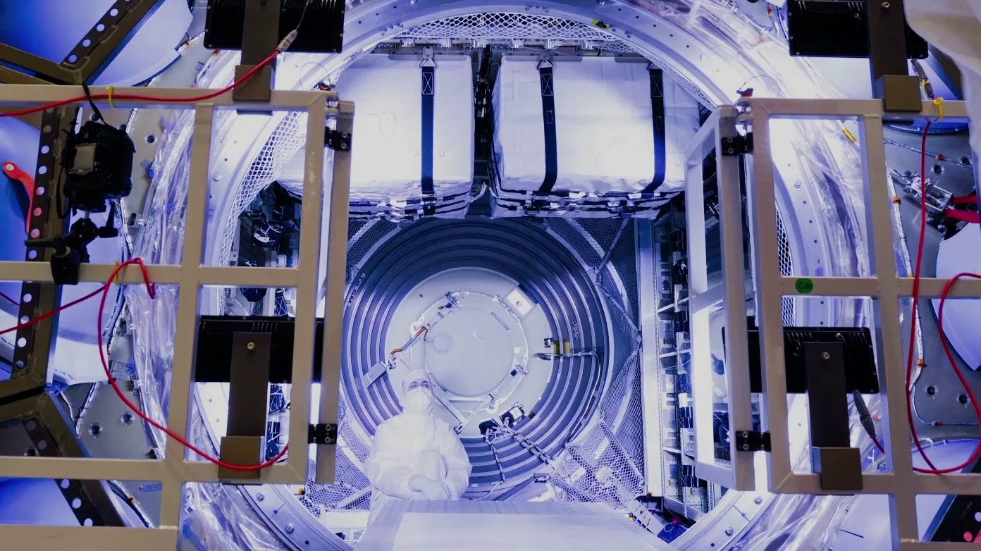 Comment ranger les provisions pour l'ISS dans une fuséée