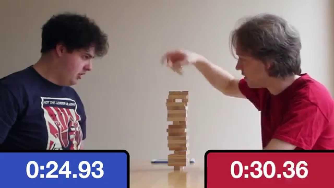 Jenga + pendule d'échecs