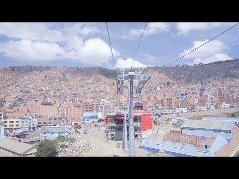 Le téléphérique urbain de La Paz