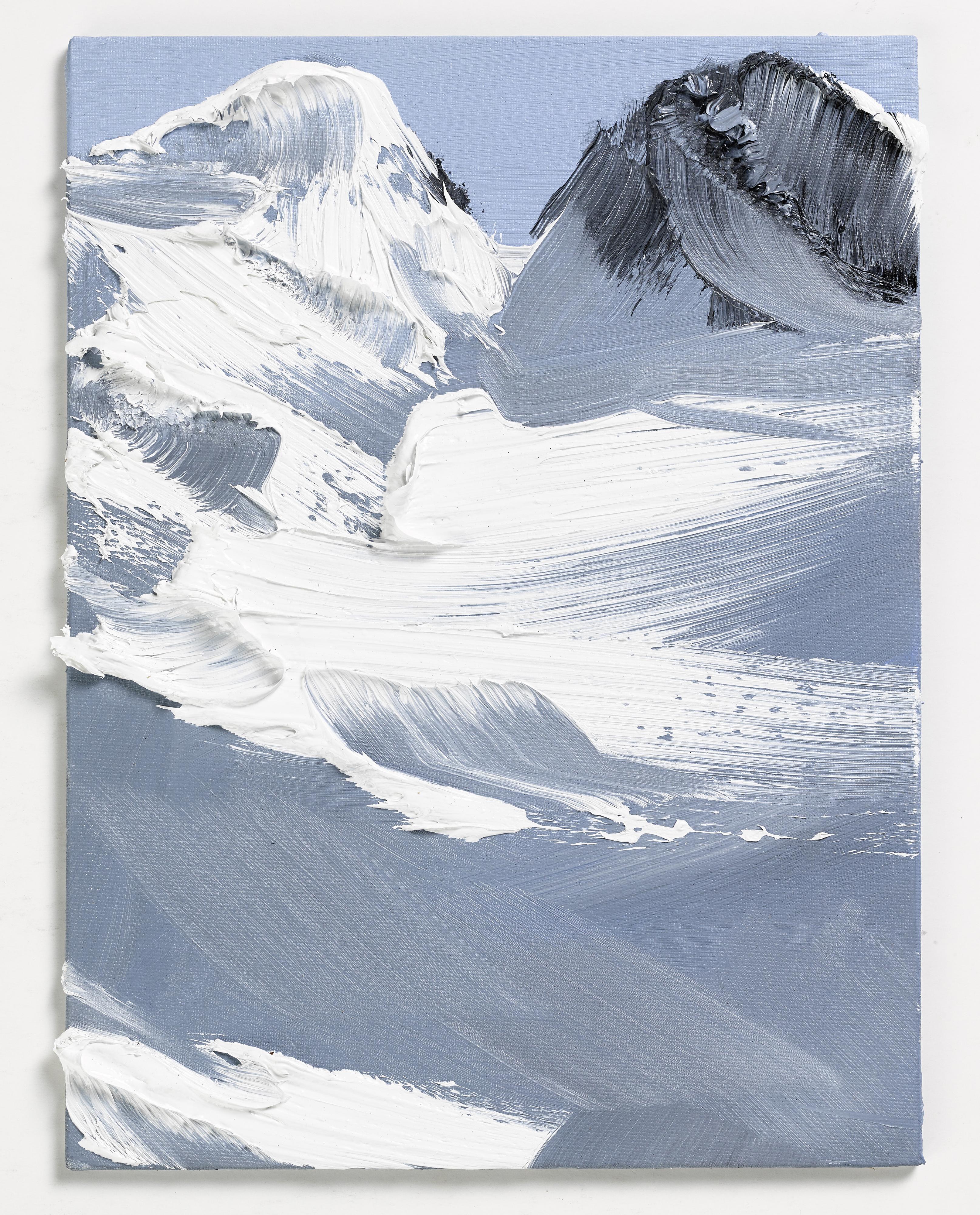 Montagne abstraction pinceau 05 la boite verte - Dessin de chalet de montagne ...
