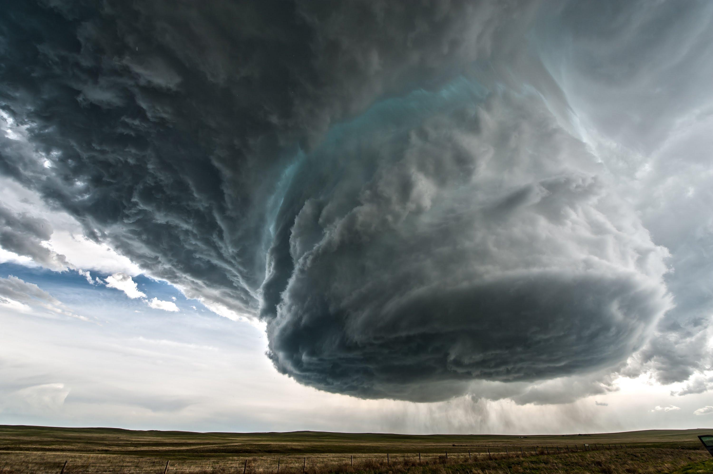 Timelapse d'un orage supercellulaire