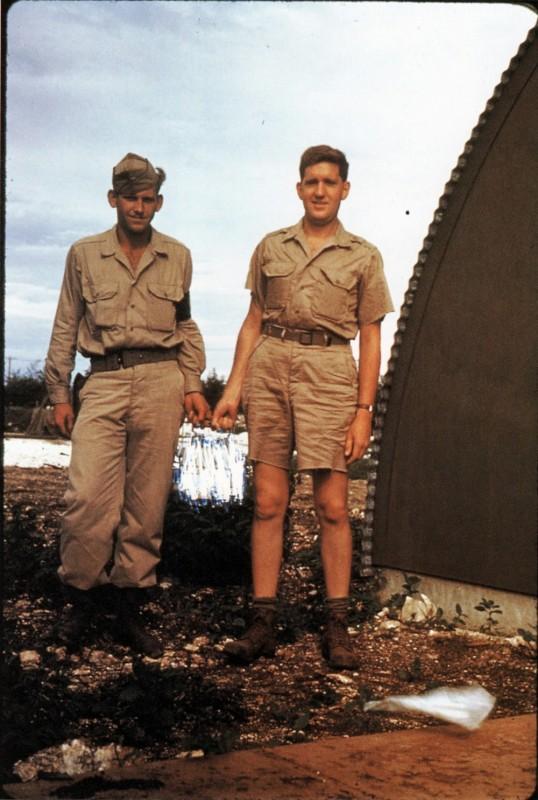Harold Agnew with plutonium core redacted
