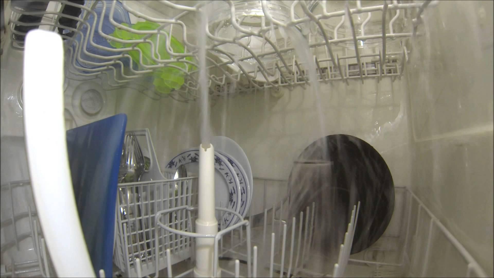 Ce qu'il se passe dans un lave-vaisselle