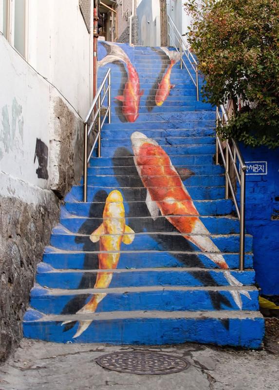 escalier-seoul