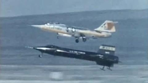 Vidéos originales des vols expérimentaux de la Nasa