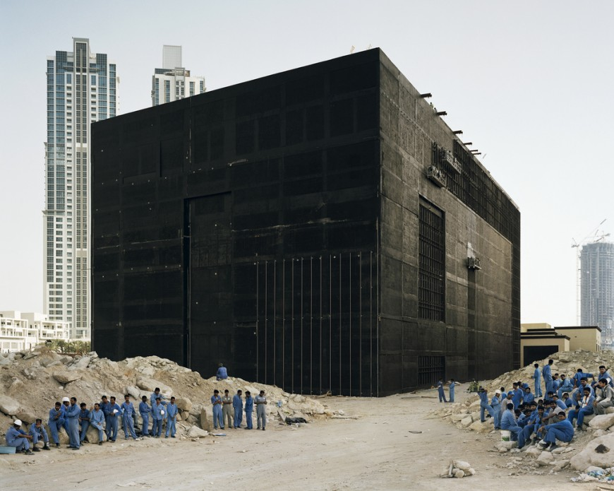 Water cooling plant, Dubai, 2009