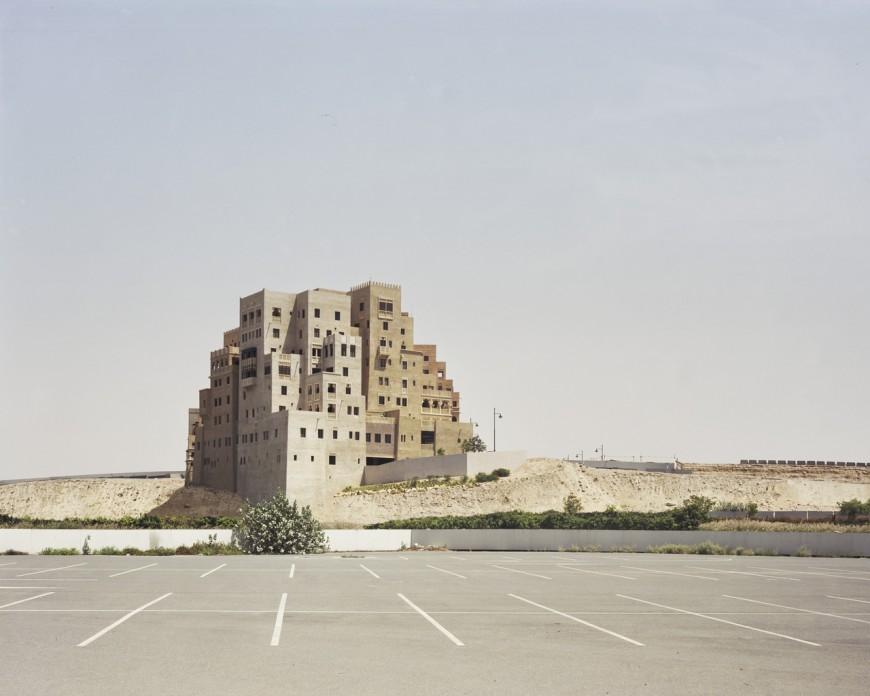 Shopping mall parking lot, Dubai, 2009