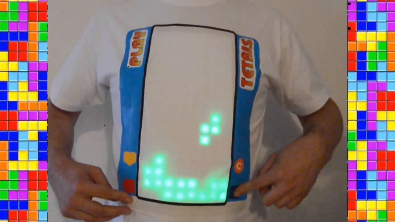 Jouer à Tetris sur un T-Shirt