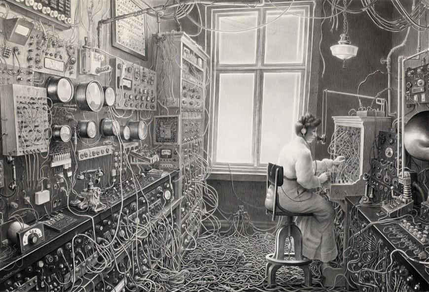laurielipton-dessin-crayon-steampunk-machine-08