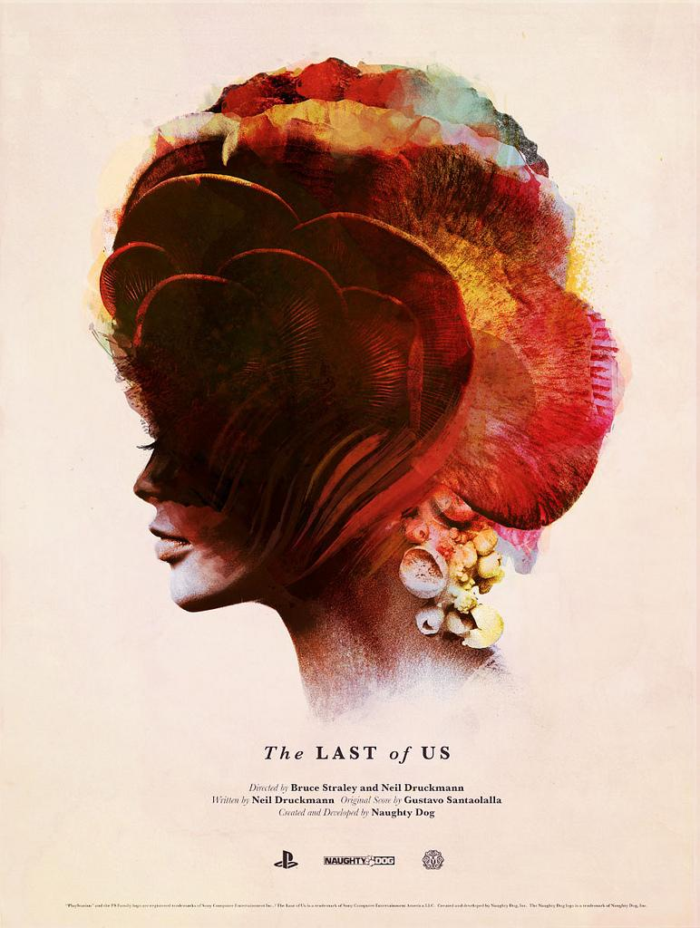Olly Moss The Last Of Us Affiche La Boite Verte