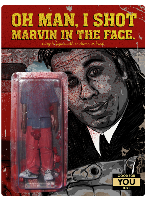 pulp fiction figurine Oh man, I shot Marvin in the face!-01