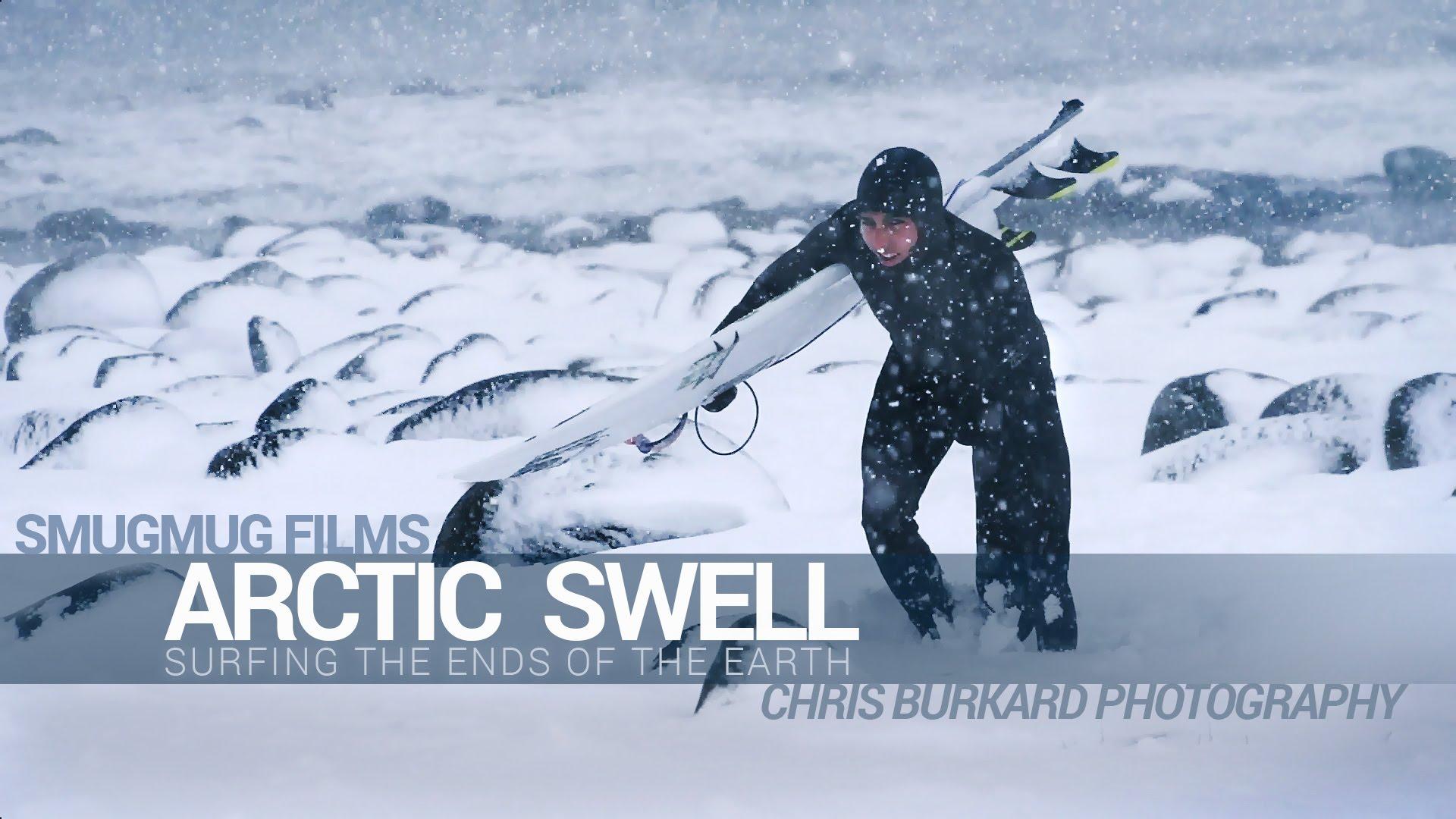 Surfer l'arctique